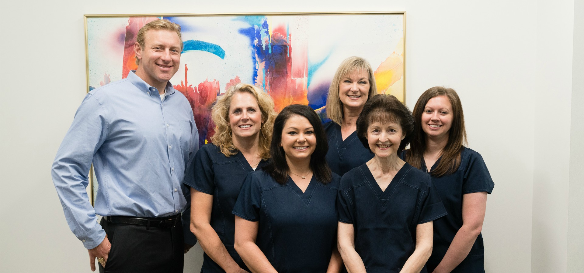 The staff at Durham DDS.